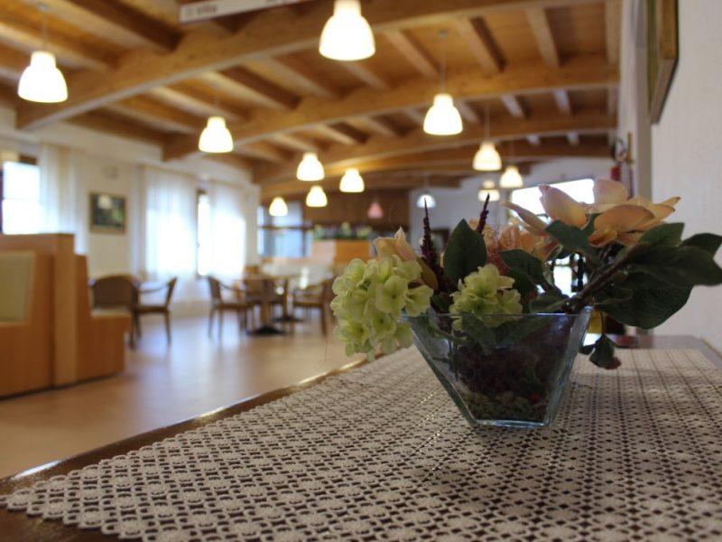 uno dei saloni interni