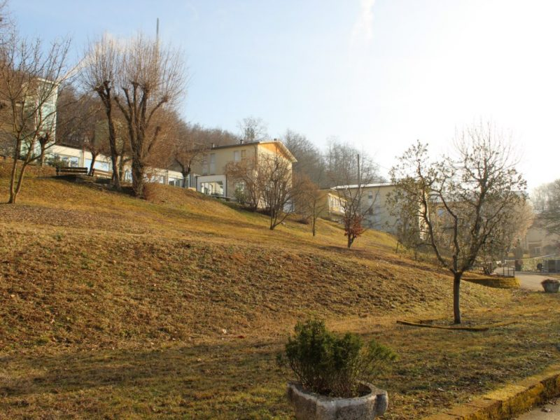 una vista del parco