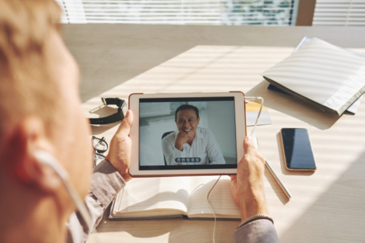 videochiamata da tablet