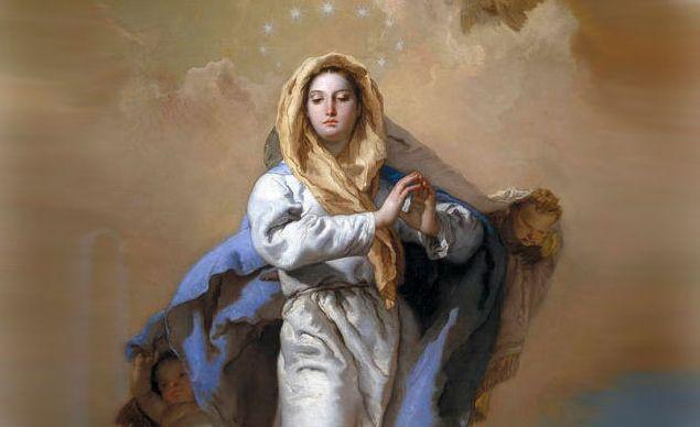 Immacolata Concezione - un dipinto