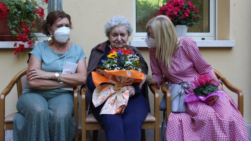 Giannina Bassetto con le figlie